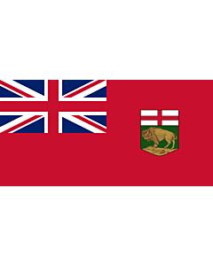 Fahne: Flagge: Manitoba