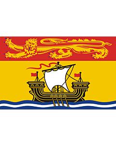 Fahne: Flagge: New Brunswick
