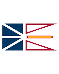 Fahne: Flagge: Neufundland und Labrador