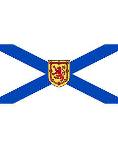Fahne: Flagge: Nova Scotia
