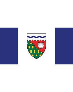 Fahne: Flagge: Nordwest-Territorien