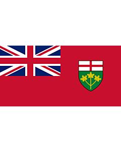 Fahne: Flagge: Ontario