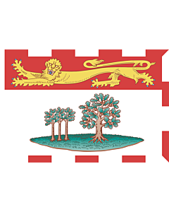 Fahne: Flagge: Prince Edward Island