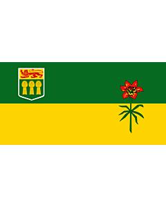 Fahne: Flagge: Saskatchewan