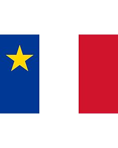 Fahne: Flagge: Acadia