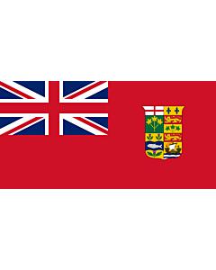 Fahne: Flagge: Canada 1868 Red