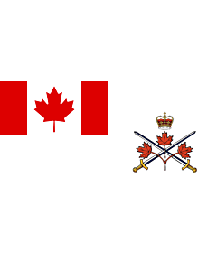 Fahne: Flagge: Canadian Army (2013–2016)