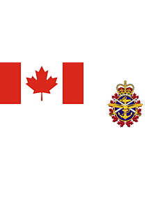 Fahne: Flagge: Canadian Forces | Joint service flag of the Canadian Forces