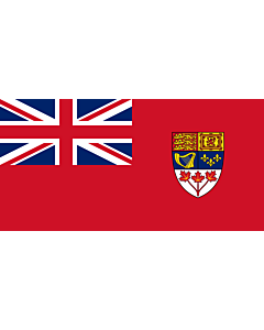 Fahne: Flagge: Canadian Red Ensign