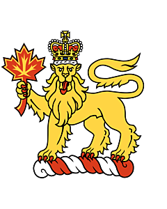 Fahne: Flagge: Crest of the Governor General of Canada