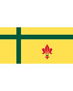 Fahne: Flagge: Dels Fransaskois