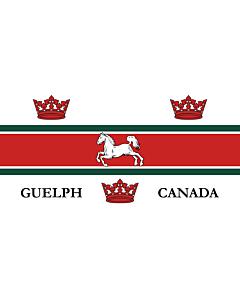 Fahne: Flagge: Guelph | City of Guelph, Ontario, Canada
