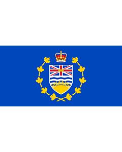 Fahne: Flagge: Lieutenant-Governor of British Columbia | Lieutenant-gouverneur de Colombie-Britannique