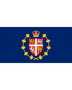 Fahne: Flagge: Lieutenant-Governor of Newfoundland and Labrador | Lieutenant-gouverneur de Terre-Neuve-et-Labrador