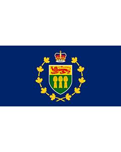 Fahne: Flagge: Lieutenant-Governor of Saskatchewan | Lieutenant-gouverneur de Saskatchewan