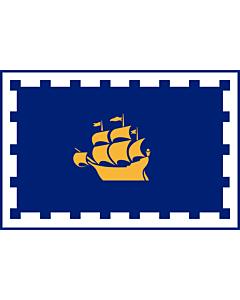 Fahne: Flagge: Quebec City | Quebec City, Quebec, Canada