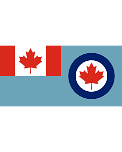 Fahne: Flagge: Royal Canadian Air Force ensign