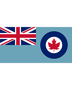 Fahne: Flagge: Royal Canadian Air Force Ensign 1941-1968