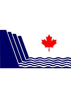 Fahne: Flagge: Scarborough, Ontario | En Scarborough, Ontario, drawn in