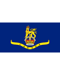 Fahne: Flagge: Standard of the Canadian Governor General 1931 | Created the image myself using the base image template at the Commons