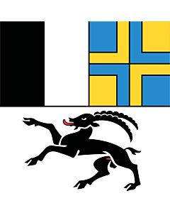 Fahne: Flagge: Graubünden