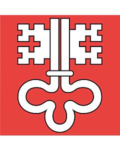 Fahne: Flagge: Nidwalden
