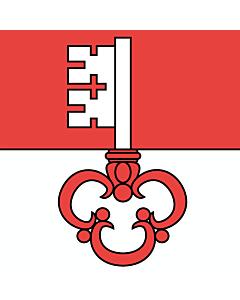 Fahne: Flagge: Obwalden