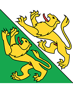 Fahne: Flagge: Thurgau