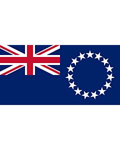 Fahne: Flagge: Cookinseln