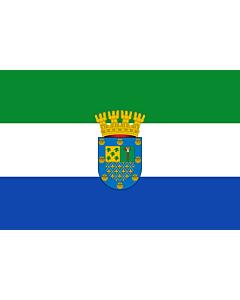 Fahne: Flagge: Peñalolén   Coat of arms of Peñalolén