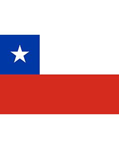Fahne: Flagge: Chile