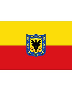 Fahne: Flagge: Bogotá