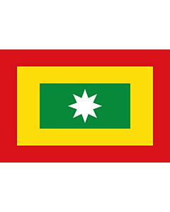 Fahne: Flagge: Barranquilla  Atlántico | Ciudad de Barranquilla  Atlántico