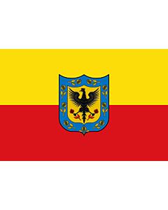 Fahne: Flagge: Bogotá D.C  Cundinamarca | Ciudad de Bogotá  Colombia