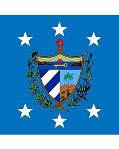 Fahne: Flagge: President of Cuba