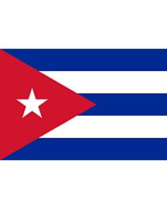 Fahne: Flagge: Kuba