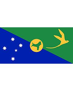 Fahne: Flagge: Weihnachtsinsel