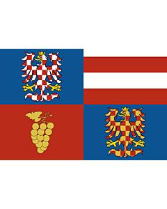 Fahne: Flagge: SüdmährischeRegion