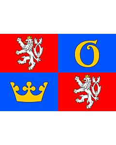 Fahne: Flagge: RegionHradecKrálové