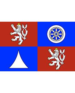 Fahne: Flagge: RegionLiberec