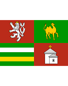 "Fahne: Flagge: ""RegionPilsen"