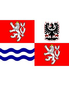 Fahne: Flagge: Mittelböhmische Region