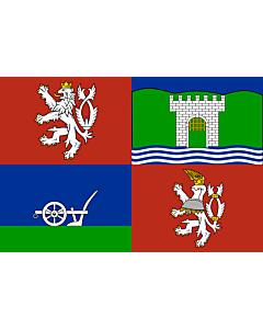 Fahne: Flagge: ÚstínadLabem