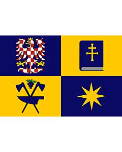 Fahne: Flagge: RegionZlín