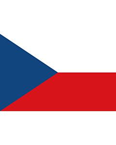 Fahne: Flagge: Tschechien (Tschechische Republik)