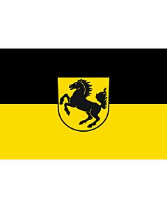 Fahne: Flagge: Stuttgart, Landeshauptstadt