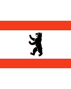Fahne: Flagge: Berlin