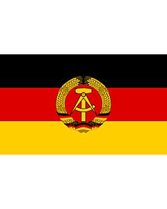 Fahne: Flagge: DDR