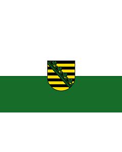 Fahne: Flagge: Sachsen