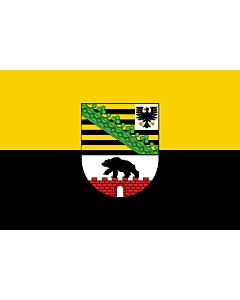 Fahne: Flagge: Sachsen-Anhalt